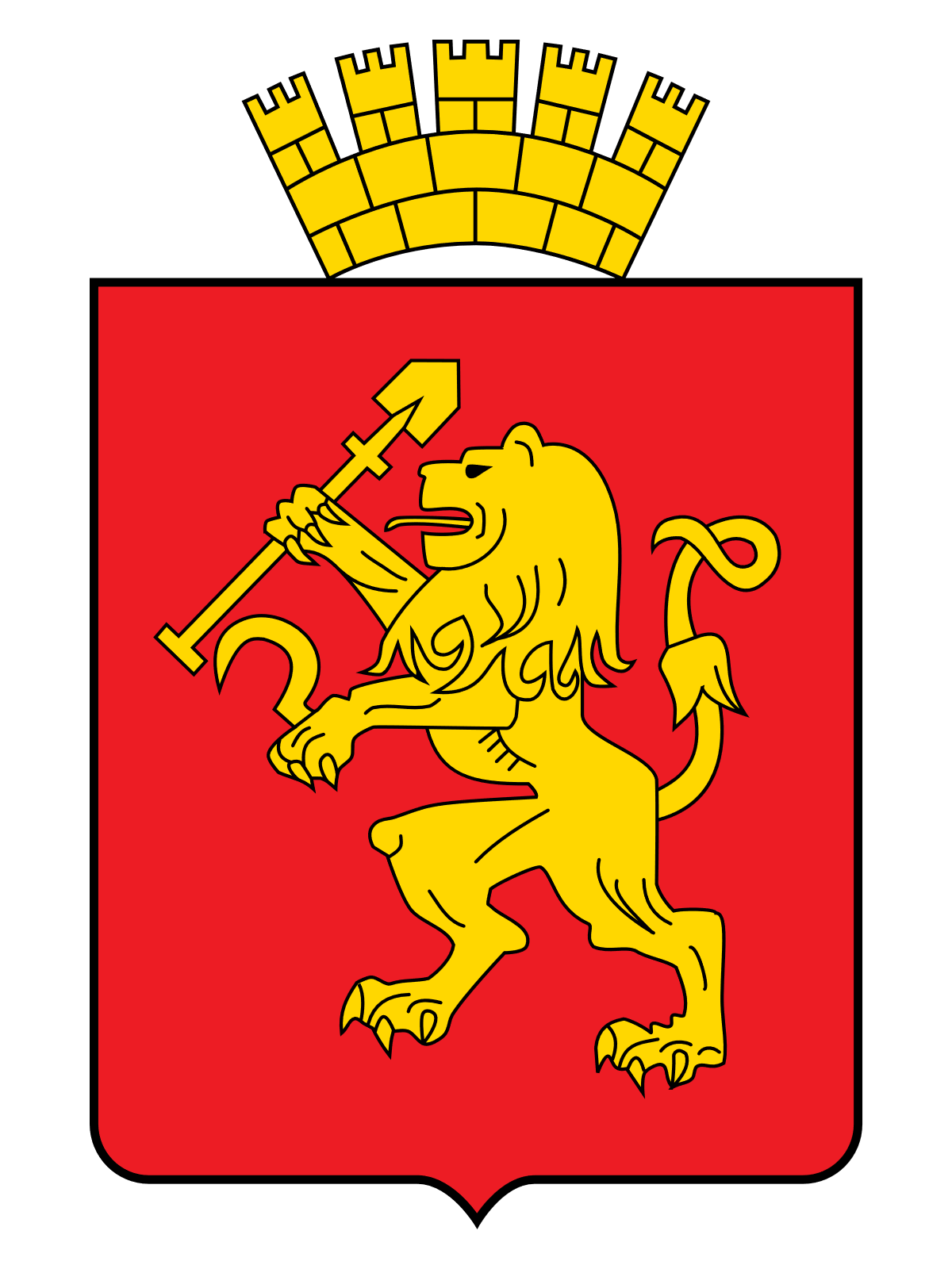 герб города Красноярска